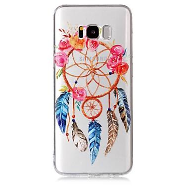 Hülle Für Samsung Galaxy S8 Plus S8 Transparent Muster Rückseite Traumfänger Weich TPU für S8 Plus S8 S7 edge S7