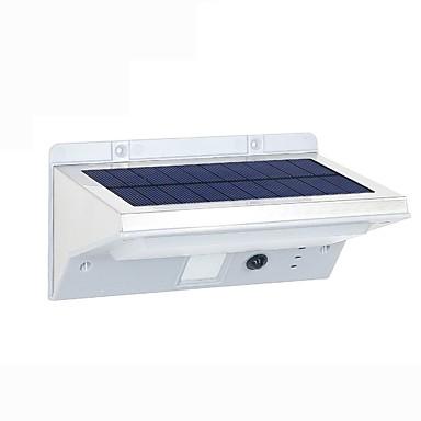 Fh0609-pir 21d solar lumini de gradina solare corp uman senzor de perete lampă acasă infraroșu senzor balcon în aer liber a condus produse