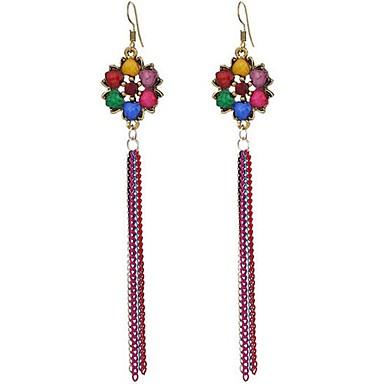 Dames Druppel oorbellen Oversized Bohemia Style Legering Bloemvorm Lijnvorm Sieraden Voor Anders >> Toneel Uitgaan