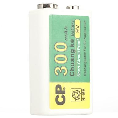 Cp Ni-MH oplaadbare batterij 300mah 9v