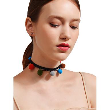 Pentru femei Minge Boem Sexy Modă Coliere Choker Aliaj Coliere Choker . Crăciun Casual Stradă Ieșire