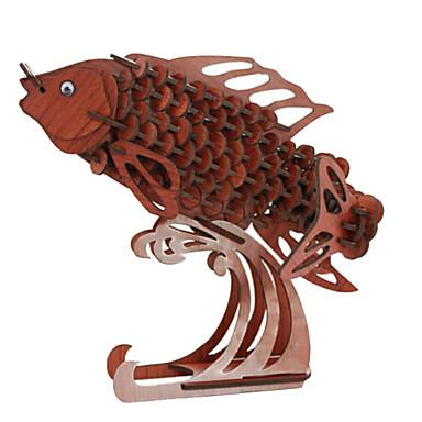 قطع تركيب3D تركيب النماذج الخشبية دبابة طيارة حيوان 3D خشب الخشب الطبيعي للجنسين هدية