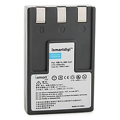 estemartdigi nb-1l / lh cameră foto baterie 1050mah 3.7v pentru canon ixus s100 s110 s200 și mai mult
