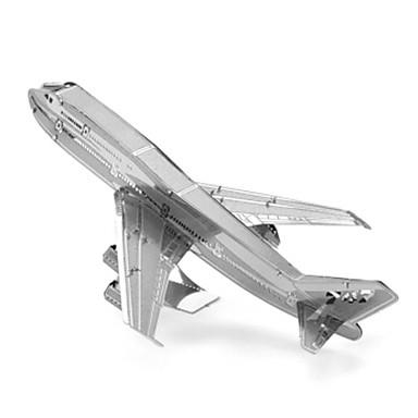3D-puzzels Legpuzzel Metalen puzzels Vliegtuig 3D DHZ Roestvast staal Metaal Unisex Geschenk
