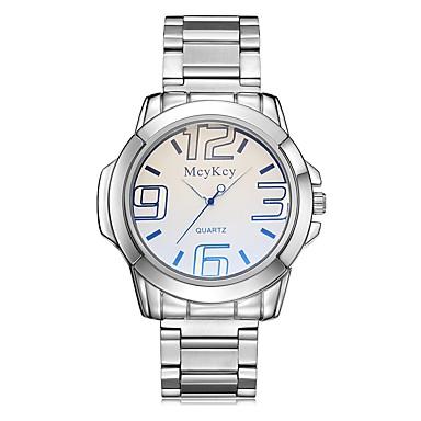 Bărbați Quartz Ceas de Mână Ceas Sport Chineză Rezistent la Apă Oțel inoxidabil Bandă Charm Creative Casual Unic Watch Creative Elegant