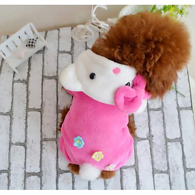 Câine Haine Îmbrăcăminte Câini Casul/Zilnic Desene Animate Roz Costume Pentru animale de companie