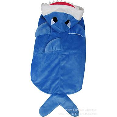 Câine Costume Îmbrăcăminte Câini Cosplay Desene Animate Albastru