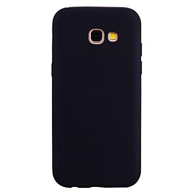 Hülle Für Samsung Galaxy A5(2017) A3(2017) Mattiert Rückseite Volltonfarbe Weich TPU für A3 (2017) A5 (2017) A7 (2017)