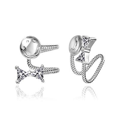 Bărbați Pentru femei Cercei cu Clip Inimă La modă Adorabil stil minimalist Clasic Elegant Argilă Geometric Shape Bijuterii PentruNuntă