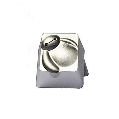 Translucid metalic keycap esc keybit super alb r4 hight top imprimat
