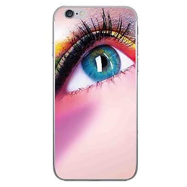 hoesje Voor Apple iPhone 7 Plus iPhone 7 Patroon Achterkant Sexy dame Zacht TPU voor iPhone 7 Plus iPhone 7 iPhone 6s Plus iPhone 6s