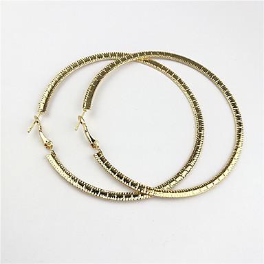 Pentru femei Cercei Rotunzi Bijuterii Design Circular Personalizat Clasic Zirconiu Circle Shape Round Shape Bijuterii PentruNuntă