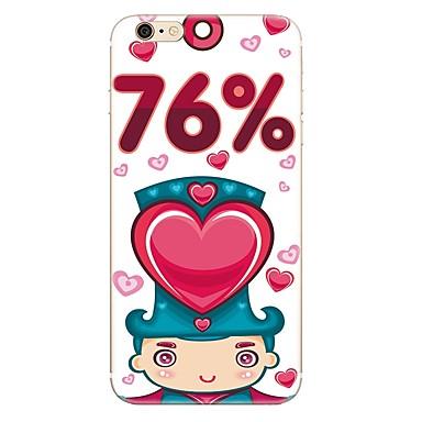Caz pentru iphone 7 7 plus model de inimă de desene animate tpu soft back cover pentru iphone 6 plus 6s plus iphone 5 se 5s 5c 4s