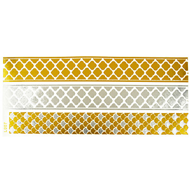 #(1) - #(23x12) - Χρυσό Σειρά Κοσμημάτων - Αυτοκόλλητα Τατουάζ - Μοτίβο - από Χαρτί για Γυναικεία/Girl/Ενήλικες/Εφηβικό