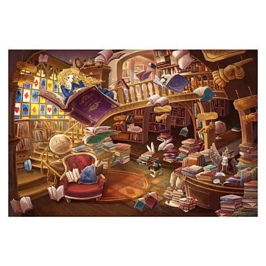 Holzpuzzle Spielzeuge Burg Berühmte Gebäude Haus Architektur Zeichentrick Holz Unisex Stücke