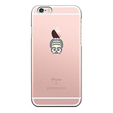 Caz pentru iphone 7 6 owl tpu soft ultra-subțire spate cover cover case iphone 7 plus 6 6s plus se 5s 5 5c 4s 4
