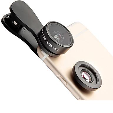 Lieqi f-515 telefoon lens 145 groothoeklens macro lens aluminium 15x mobiele telefoon camera lenzen kit voor Samsung smartphones iphoned