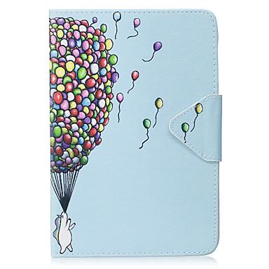 Fall für ipad mini 1 2 3 mini 4 Fallabdeckungsballonmuster PU-materieller Dreifachtablette-PC-Falltelefonkasten