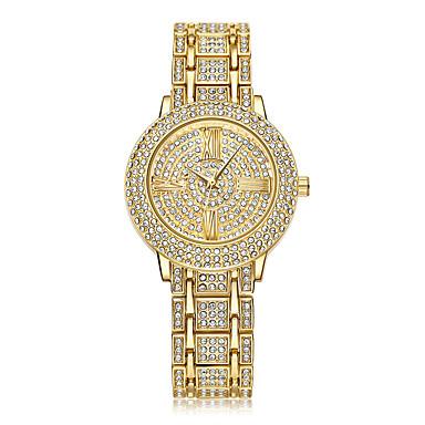 Dames Kinderen Sporthorloge Dress horloge Modieus horloge Polshorloge Unieke creatieve horloge Vrijetijdshorloge Gesimuleerd Diamant