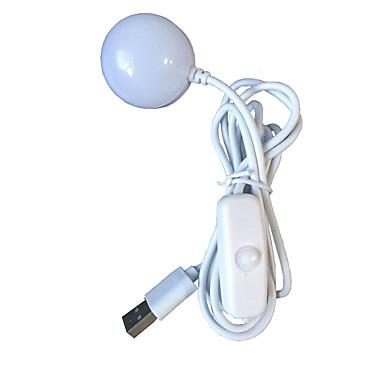1 piesă Lumini USB LED-uri de lumină de noapte Alb Rece USD Ușor de Purtat Decorativ