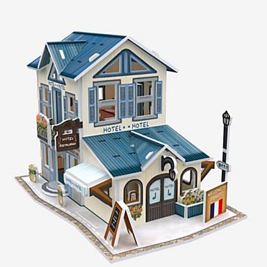 3D - Puzzle Holzpuzzle Papiermodel Spielzeuge Berühmte Gebäude Architektur 3D Heimwerken Einrichtungsartikel Naturholz Unisex Stücke