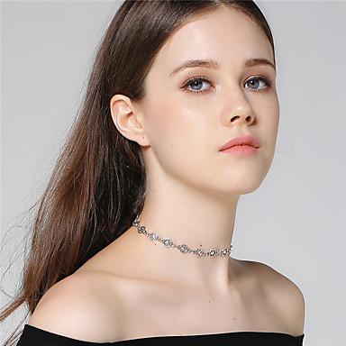 Pentru femei Coliere Choker  -  Αστέρι Personalizat, stil minimalist, Modă Argintiu Coliere Pentru Zi de Naștere, Absolvire, Cadou