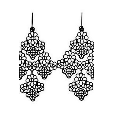 Damen Tropfen-Ohrringe Schmuck Basis Modisch Böhmen-Art Aleación Runde Form Schmuck Für Alltag Verabredung Festtage Ausgehen