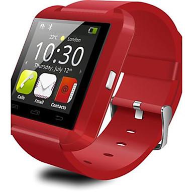 Heren Digitaal horloge Digitaal Alarm Waterbestendig Rubber Band Zwart Wit Rood