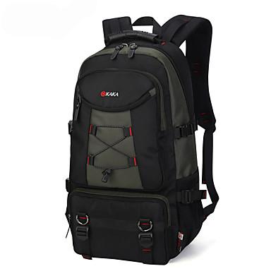 35L sırt çantası - Çok Fonksiyonlu Kamp & Yürüyüş Oxford Açık Yeşil, Siyah, Gri