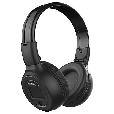 B570 hoofdband draadloze koptelefoon platte magnetische plastic sport&Fitness oortelefoon met microfoon met volumeregeling headset