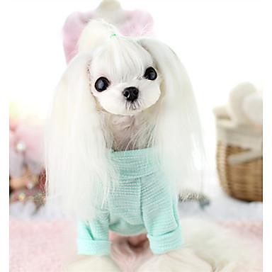 Hund Weste Hundekleidung Lässig/Alltäglich Buchstabe & Nummer Gelb Grün Blau Rosa Kostüm Für Haustiere