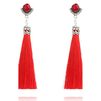 Damen Tropfen-Ohrringe Basis Modisch Böhmen-Art individualisiert nette Art Handgemacht Luxus-Schmuck Simple Style Klassisch Elegant