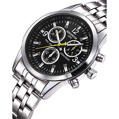 cd3d4aab463d1 رخيصةأون ساعات الرجال-رجالي ساعة المعصم ياباني ستانلس ستيل فضة 30 m مقاوم  للماء إبداعي