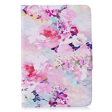 Hülle Für Apple iPad Mini 4 iPad Mini 3/2/1 Origami Ganzkörper-Gehäuse Blume Hart PU-Leder für iPad Mini 4 iPad Mini 3/2/1 Apple