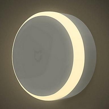 Xiaomi 1 piesă LED-uri de lumină de noapte Alb Cald Baterie Senzor cu Infraroșii Intensitate Luminoasă Reglabilă Controlul luminii Senzor