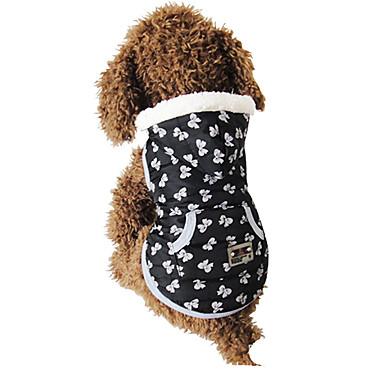 Câine Haine Îmbrăcăminte Câini Casul/Zilnic Buline Negru