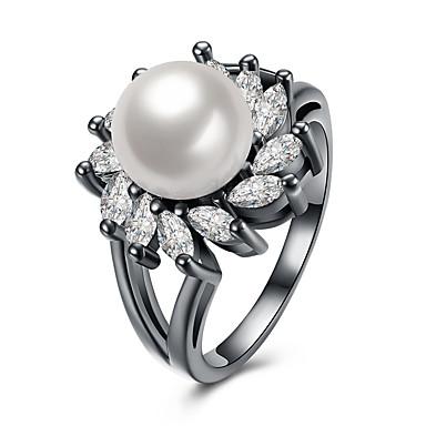 Pentru femei Inele Midi Perle bijuterii de lux Stil Punk Hip-Hop Gotic Perle Circle Shape Geometric Shape Bijuterii PentruPetrecere
