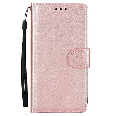 Maska Pentru Samsung Galaxy A5(2017) A3(2017) Titluar Card Portofel Cu Stand Întoarce Carcasă Telefon Culoare solidă Greu PU piele pentru