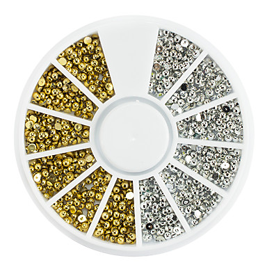 1 Montat pe suprafață Art Deco/Retro Unghiul de bijuterii Consumabile DIY 3-D Glitters Artistic Lux Cu bijuterii Accesorii Activ Șic &