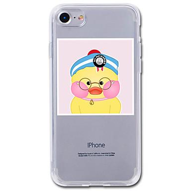 Pentru iphone 7plus caz acoperă transparent model spate acoperă caz animat animal moale tpu pentru iphone 7 6splus 6plus 6s 6 5 5s se