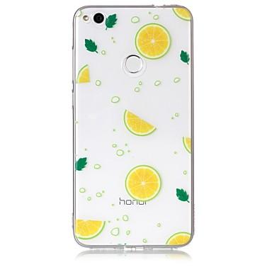 Hülle Für Huawei Huawei P8 Lite Transparent Muster Rückseite Frucht Weich TPU für P10 Lite P10 P8 Lite (2017) Huawei P8 Lite Honor 8 Nova