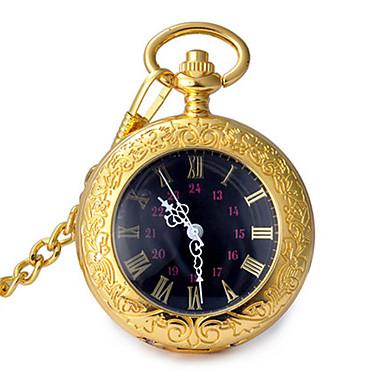 Bărbați Pentru femei Ceas de buzunar Quartz Aliaj Bandă Vintage Auriu