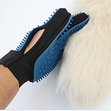 رخيصةأون مستلزمات وأغراض العناية بالكلاب-قط كلب الاستمالة العناية الصحية التنظيف مجموعة الاستمالة فرش الحمامات مقاوم للماء المحمول قابلة للطى أزرق