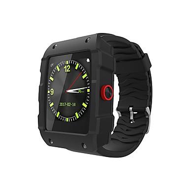 זול שעונים חכמים-YYV18 גברים חכמים שעונים Android iOS Blootooth GPS ספורטיבי עמיד במים מודד לחץ דם מסך מגע שעון עצר מד צעדים מד פעילות מעקב שינה תזכורת בישיבה / המתנה ארוכה / שיחות ללא מגע יד / מצאו את המכשירשלי