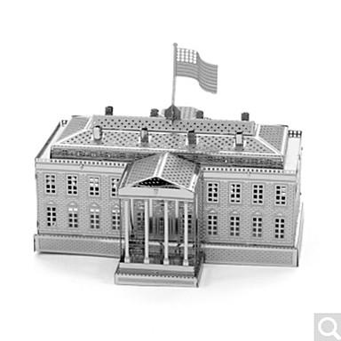 قطع تركيب3D تركيب تركيب معدني ألعاب بناء مشهور معمارية 3D اصنع بنفسك معدن سبيكة غير محدد قطع