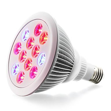 1szt 900lm E26 / E27 Rosnąca żarówka 24 Koraliki LED High Power LED Niebieski Czerwony 85-265V