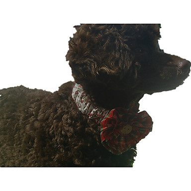 Câine Cravată / Papion Îmbrăcăminte Câini Floral / Botanic Material Textil Costume Pentru animale de companie Bărbați / Pentru femei