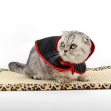 Katze Hund Kostüme Hundekleidung Cosplay Britisch Schwarz/Rot Kostüm Für Haustiere