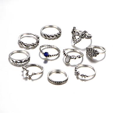 Pentru femei Cristal / Diamant sintetic / Ștras Lux Set bijuterii - Personalizat / Lux / Hip-Hop Circle Shape / Geometric Shape /