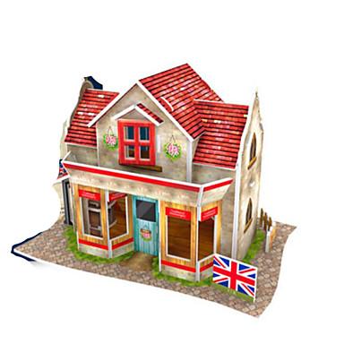 Puzzle 3D Puzzle Modelul de hârtie Clădire celebru Casă Arhitectură 3D Reparații Hârtie Rigidă pentru Felicitări Pentru copii Băieți